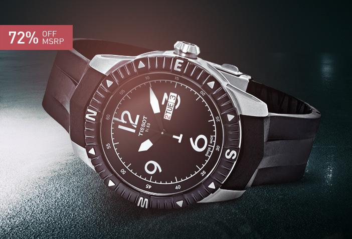 T-Navigator Series Black Dial
