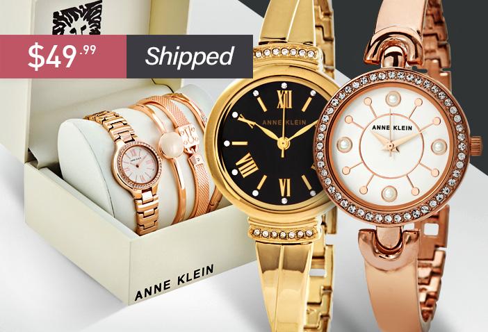Gold-tone Ladies Watch &