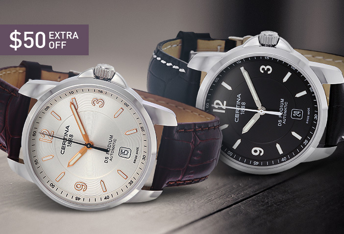 DS Podium Series Automatic Leather