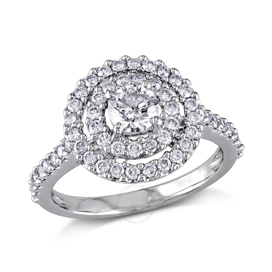 1 ct diamond tw fashion ring 14k white gold gh i1 size 7. Black Bedroom Furniture Sets. Home Design Ideas