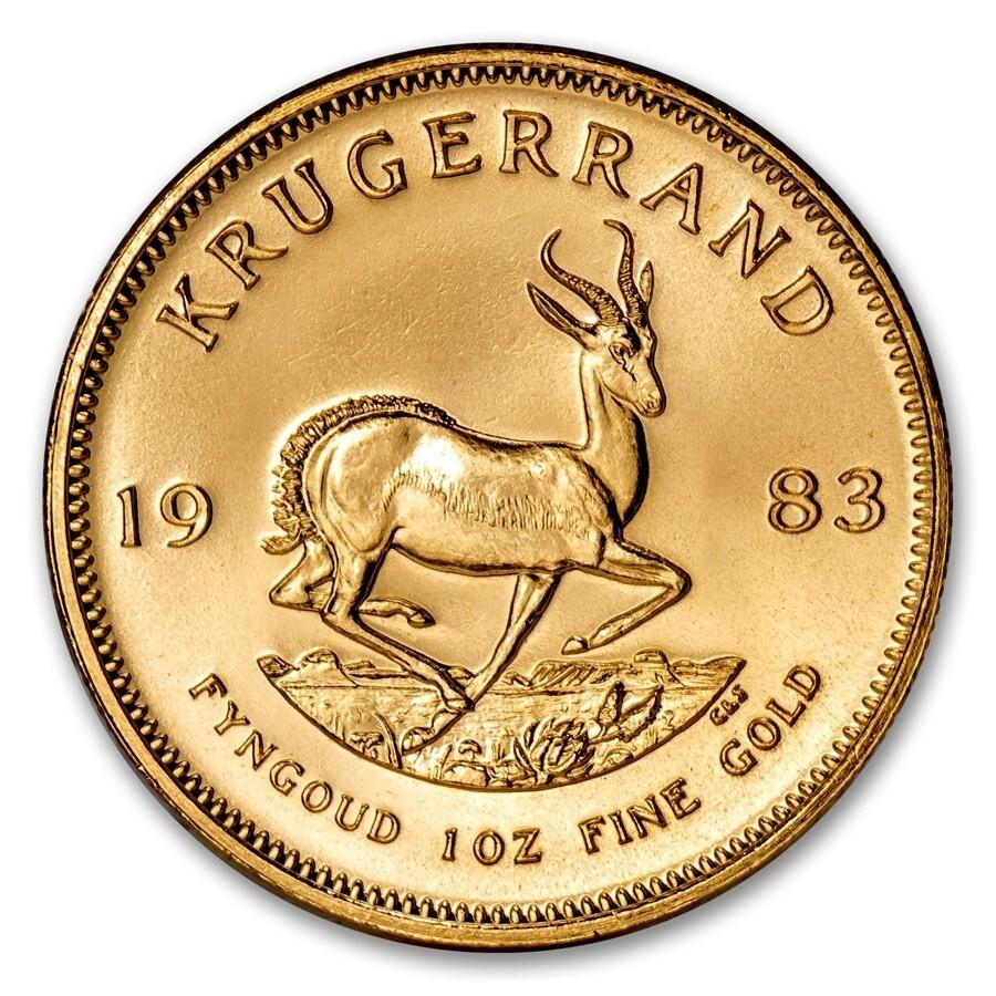 1983 South Africa 1 Oz Gold Krugerrand