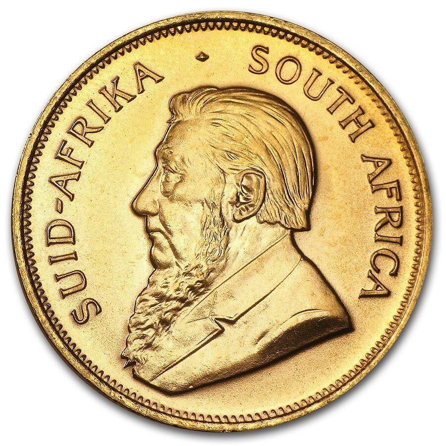 1984 South Africa 1 Oz Gold Krugerrand