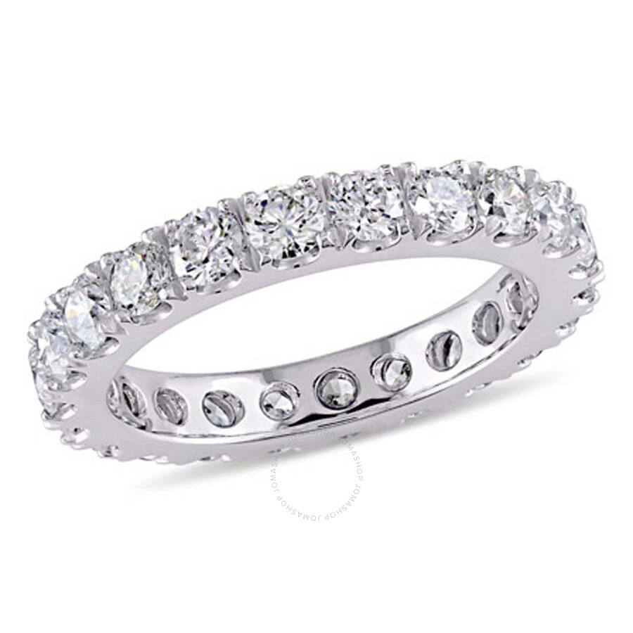 2 Ct Diamond Tw Eternity Ring 14k White Gold Gh I1 Size 7 Jms004811