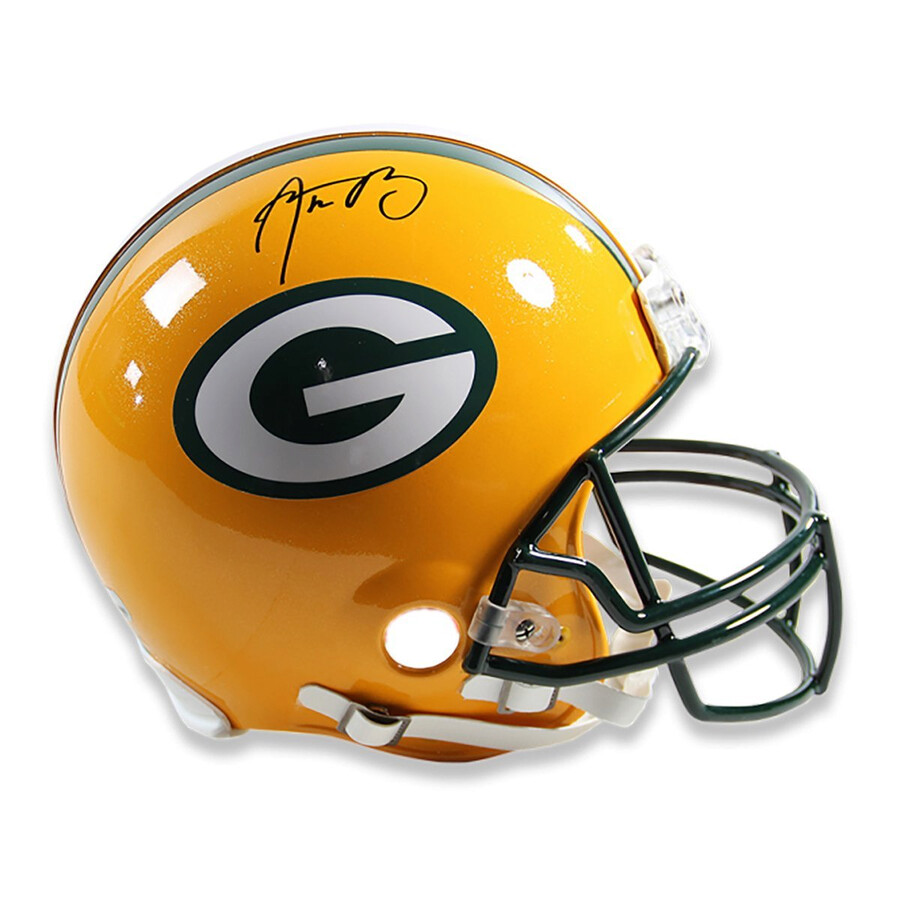 Steiner Sports Aaron Rodgers Signed Green Bay Packers Full Size Authentic  Helmet Item No. SSPRODGHES000014 1d8edec74