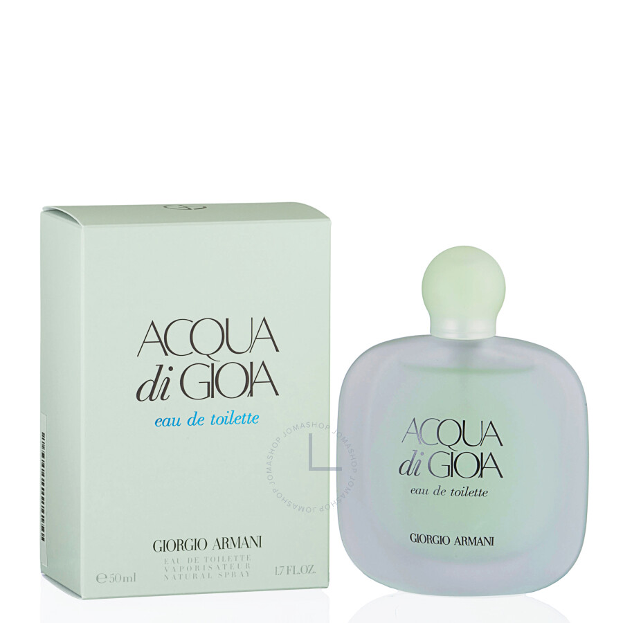 acqua di gioia by giorgio armani eau de toilette spray for 1 7 oz w jomashop
