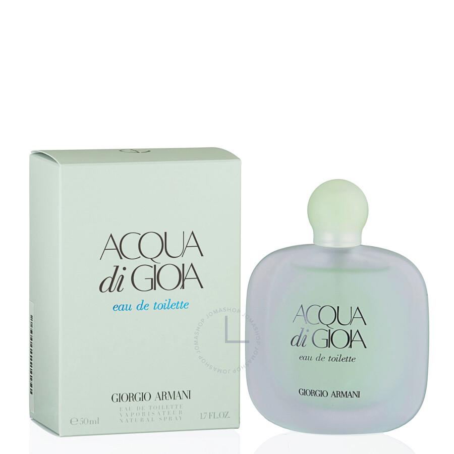 acqua di gioia by giorgio armani eau de toilette spray for 1 7 oz w jomashop