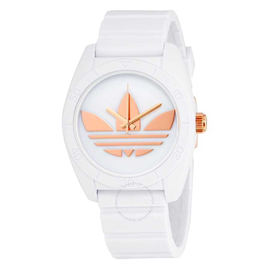 Adidas Addidas Santiago Quartz White Silicone Strap Unisex Watch