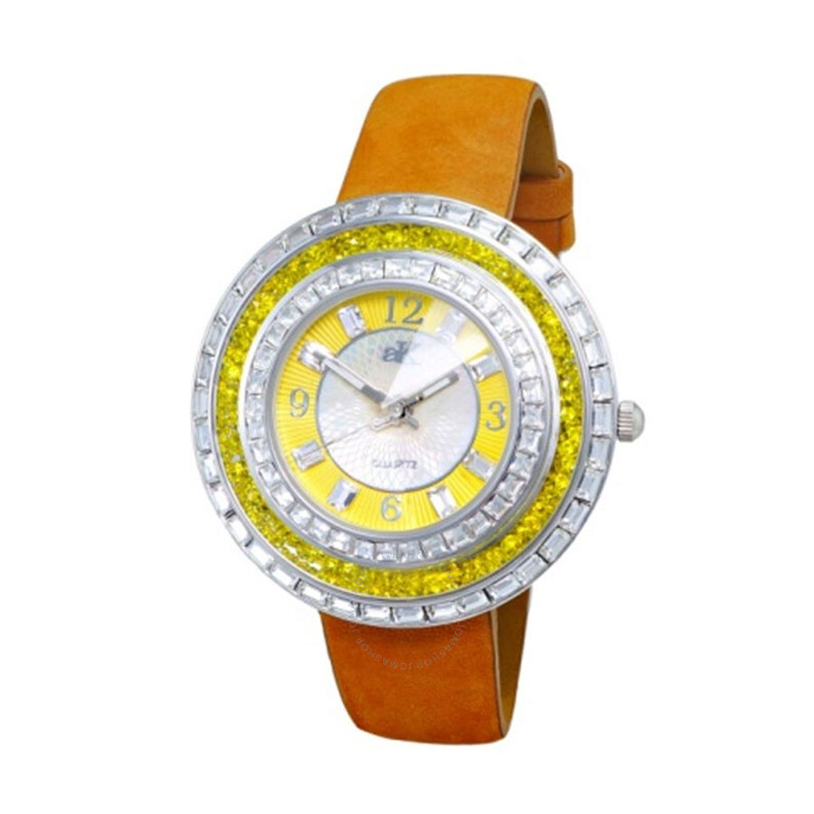 Exotic Mother of Pearl Dial Ladies Watch AK9707-LYW