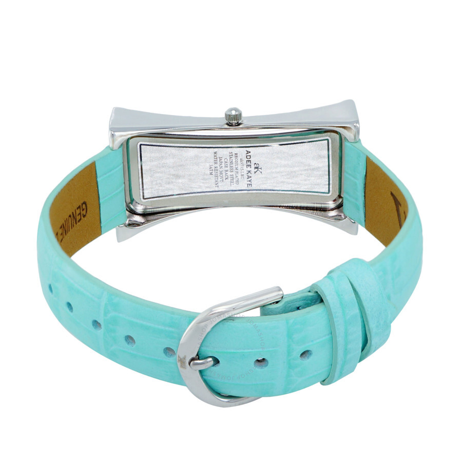 Quartz Crystal Blue Dial Ladies Watch AK9715-LBU