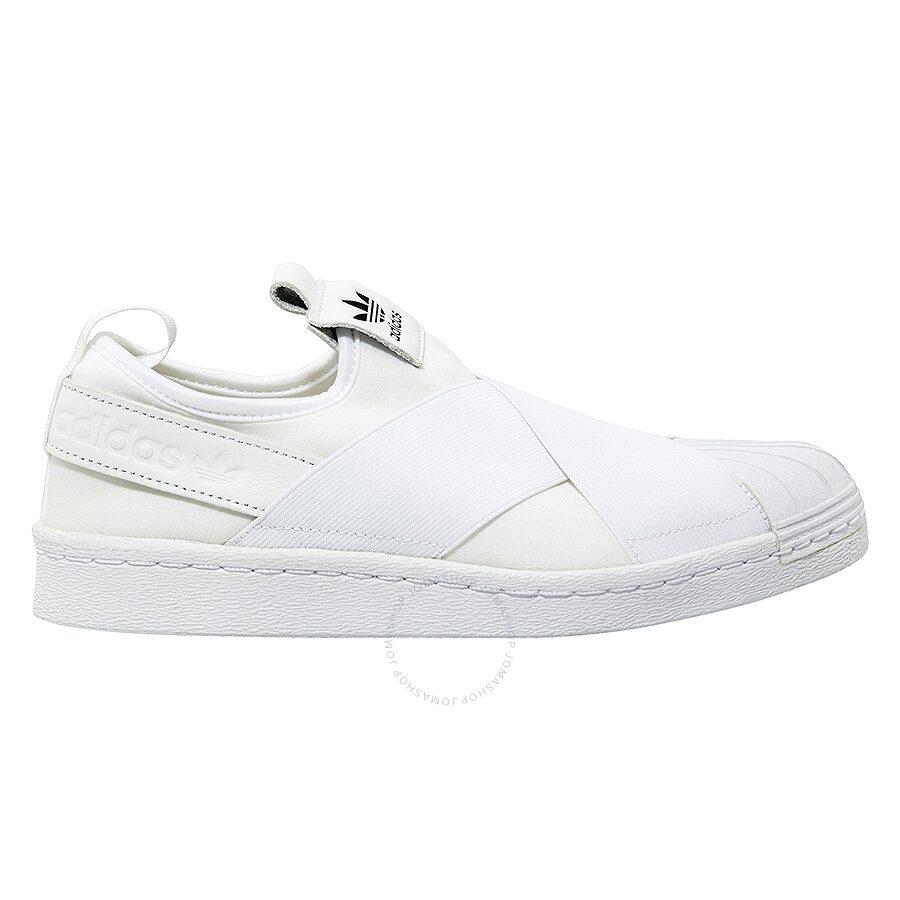 more photos 31882 44b5c Adidas Ladies Superstar Slip-Ons- Size 5 Item No. S81338-5