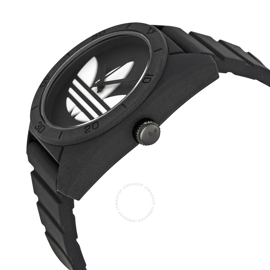 detailed look 3cc24 76f83 adidas santiago watch black