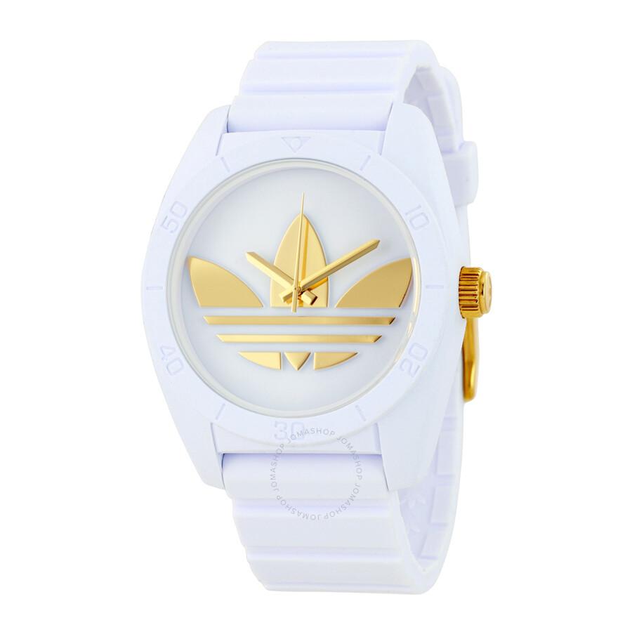 3f7d3ec10b65 Adidas Santiago White Dial Men's Watch ADH2917