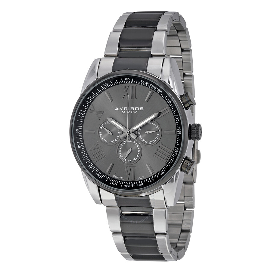 Akribos xxiv alloy men 39 s watch ak736ttb akribos xxiv watches jomashop for Akribos watches