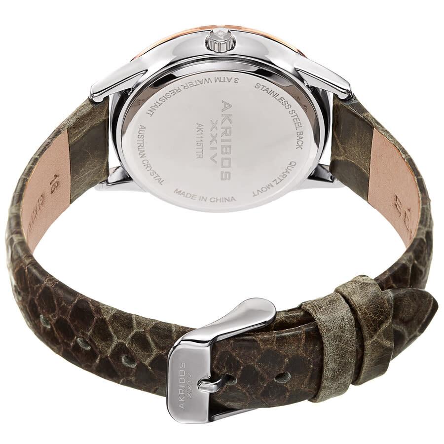 Quartz Grey Dial Ladies Watch AK1115TTR
