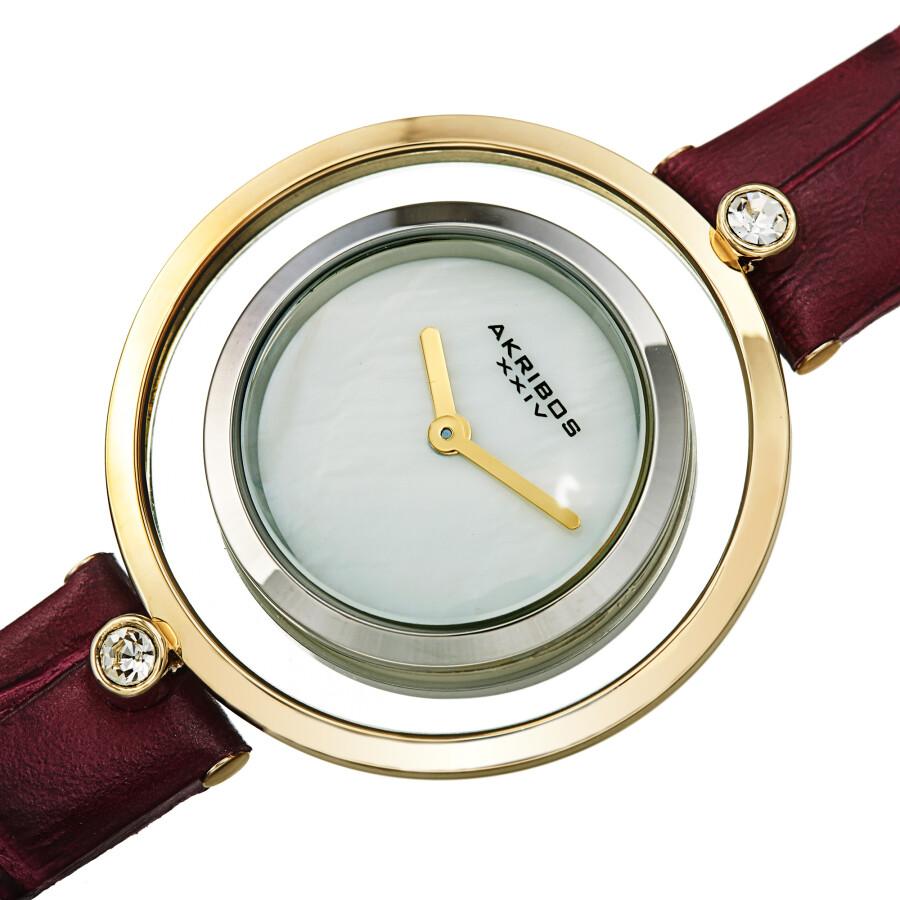 Quartz White Dial Ladies Watch AK1060PU