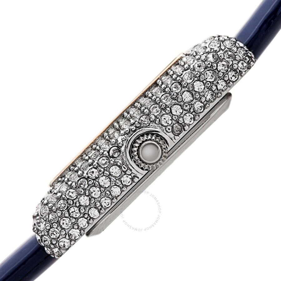 Quartz Crystal White Dial Ladies Watch AK1068BU