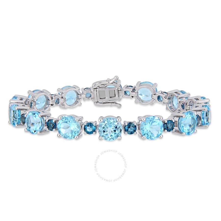 Amour 37 1 10 Ct Tgw Sky Blue Topaz And London