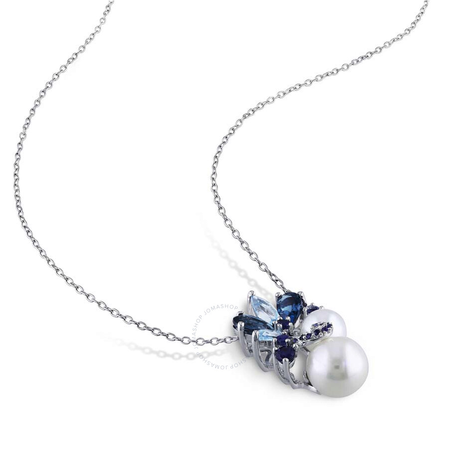 amour sterling silver cultured freshwater pearl multi
