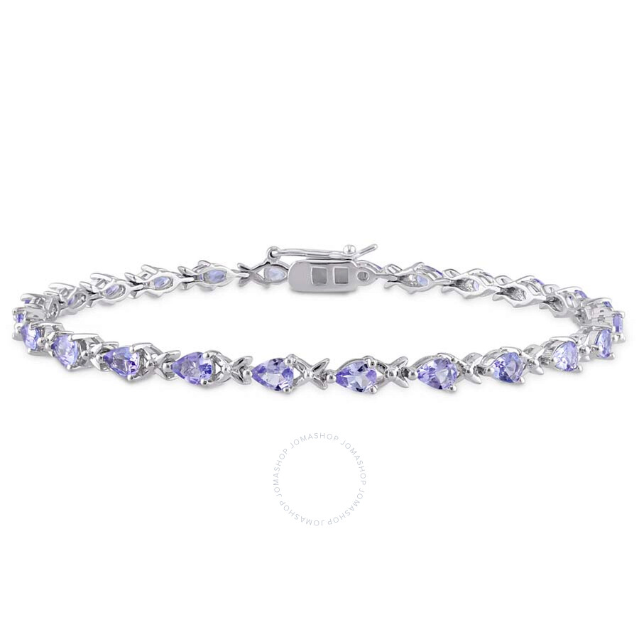 and in bracelet image round yellow oval gold tanzinite diamond tanzanite tennis