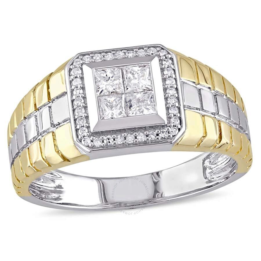 Golden Lion He Fingers Mens Ring Celebrity Men Styles Jewelry Size 13