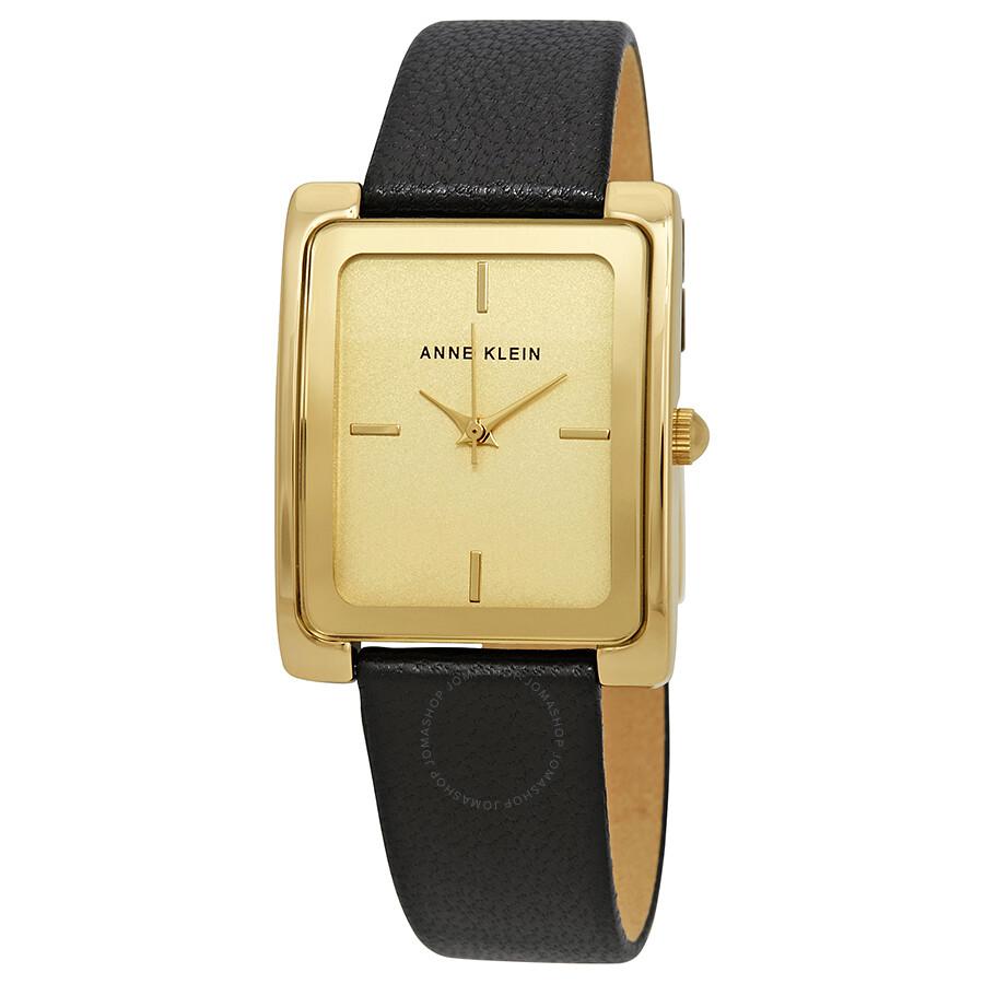 ca9878aa6 Anne Klein Champagne Dial Ladies Watch 2706CHBK - Anne Klein ...
