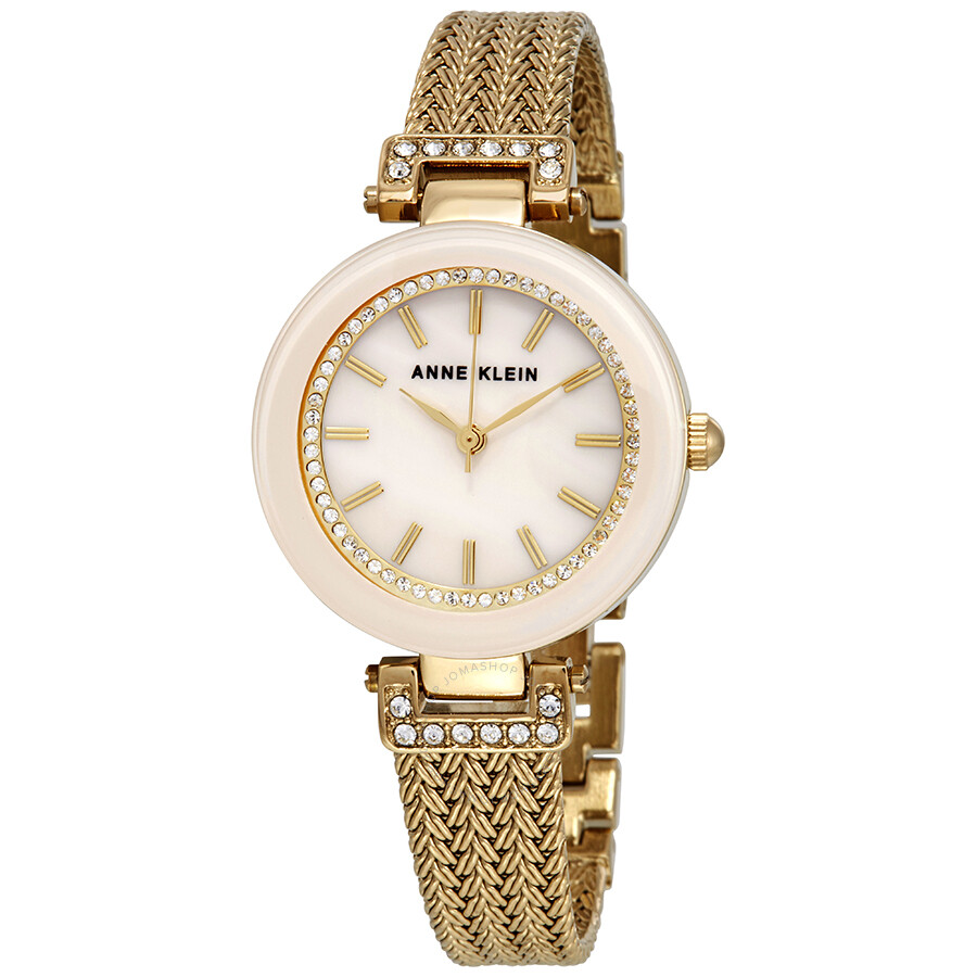 anne klein pink blush dial ladies watch 1906pmgb anne klein watches jomashop