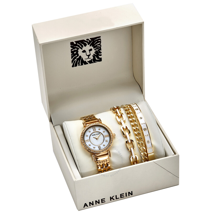 Anne Klein White Mother Of Pearl