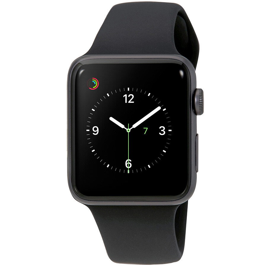 new concept b5b36 b158e Apple Watch Series 3 42mm Space Gray Aluminum Case (GPS Only) Smartwatch  MQL12LL/A