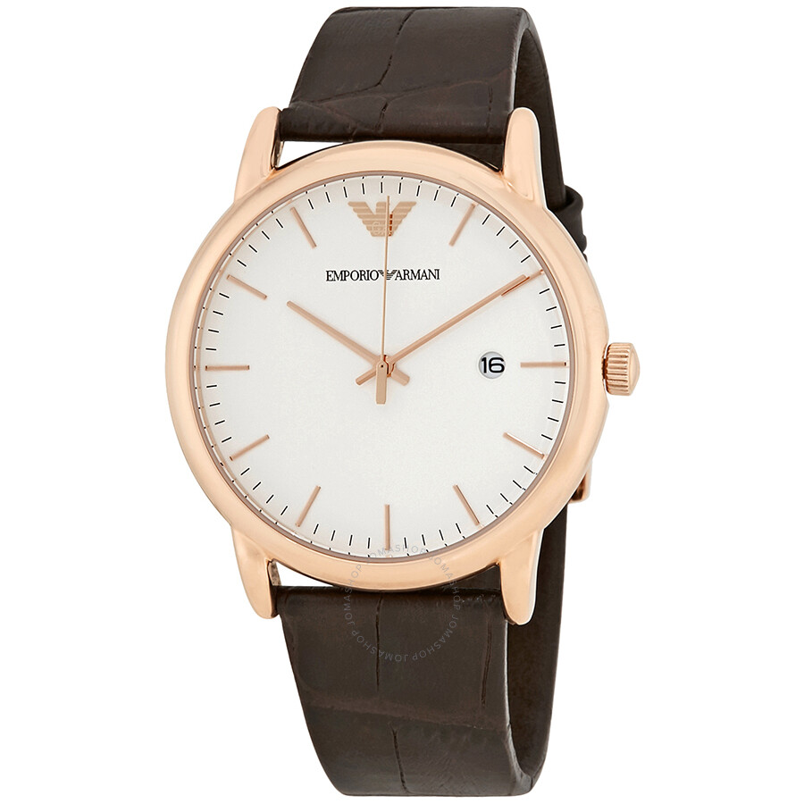 fb39faff8d05 Emporio Armani Luigi White Dial Men s Dress Watch AR2502 - Emporio ...