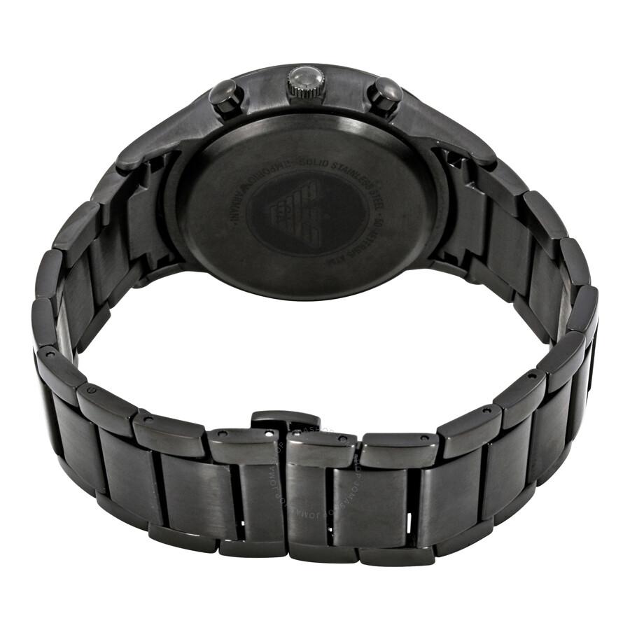 1d6c5993d ... Emporio Armani Classic Chronograph Black Dial Men's Watch AR2453