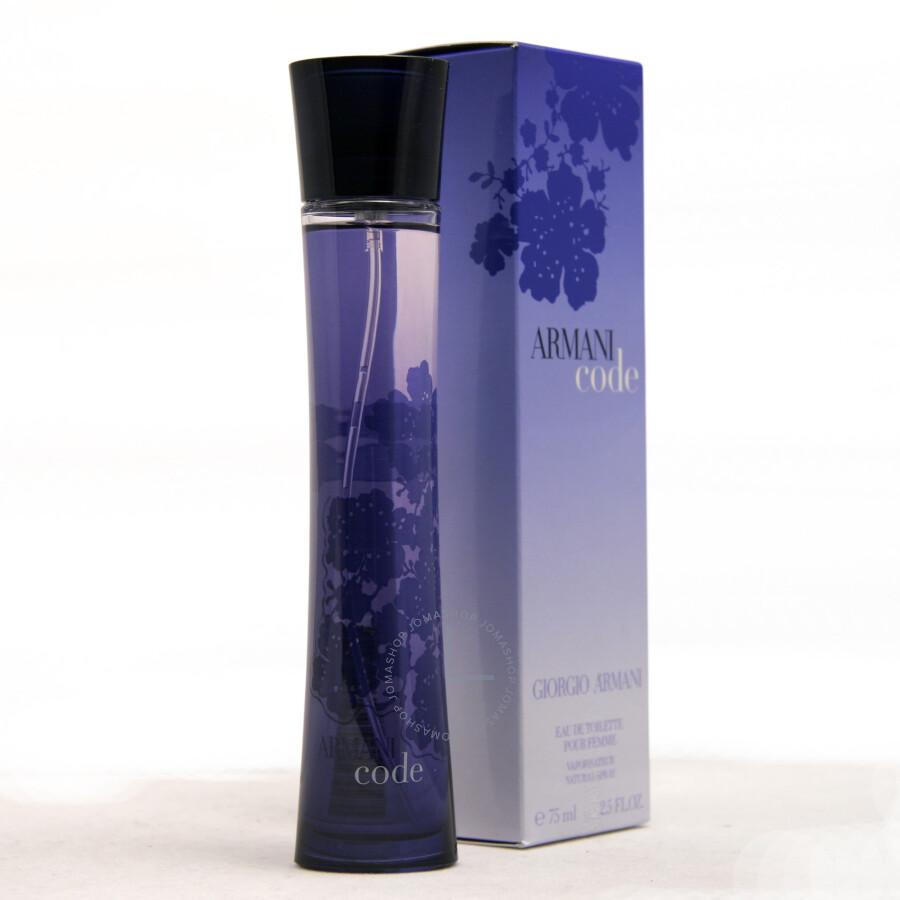 Armani Code Pour Femme By Giorgio Armani Eau De Toilette Spray 25