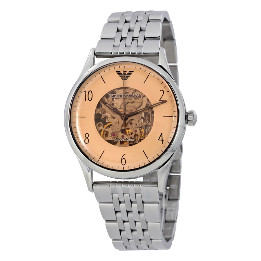 d182ad9c223 Emporio Armani Dress Beige Dial Men s Stainless Steel Watch AR1922 ...