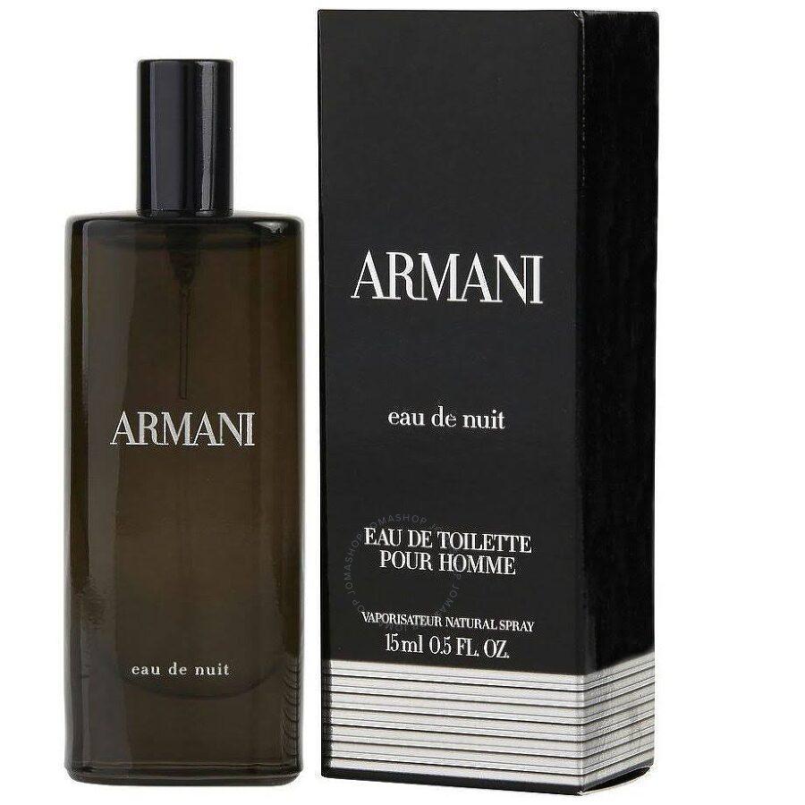 Armani Eau De Nuit Giorgio Armani Edt Spray 05 Oz 15 Ml M
