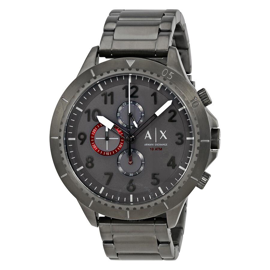 54ec199ef Armani Exchange Active Chronograph Men's Gunmetal Watch AX1762 ...