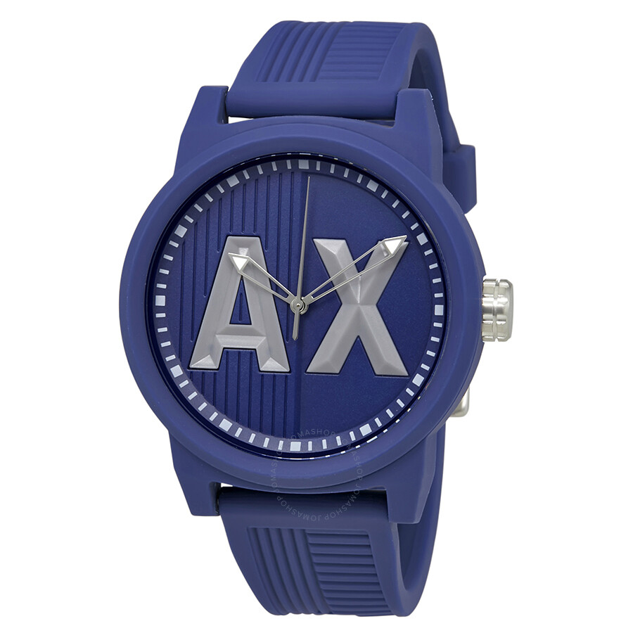 24136d329ae Armani Exchange ATLC Red Silicone Strap Men s Watch AX1454 - Armani ...
