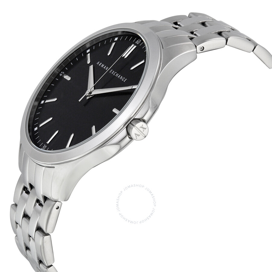 d4551ed1eae ... Armani Exchange Black Dial Stainless Steel Men s Watch AX2147 ...