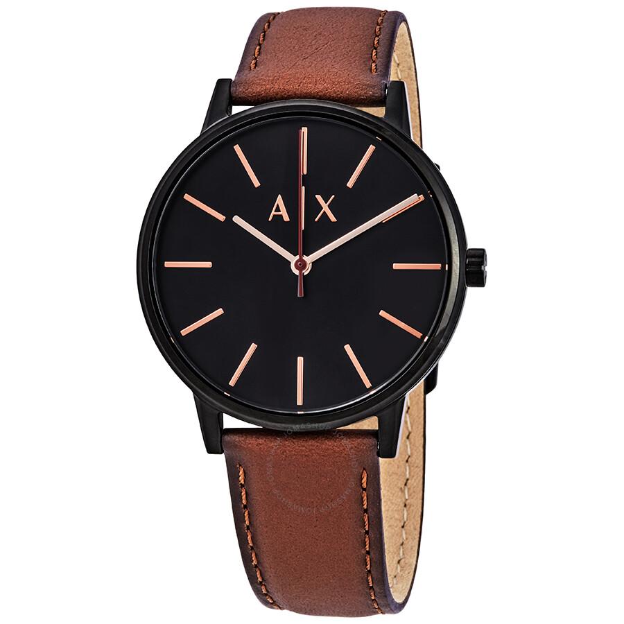 b3bcd3ad62e3 Armani Exchange Cayde Black Dial Men s Watch AX2706 - Armani ...