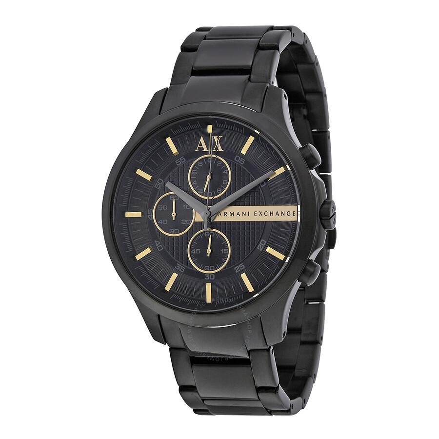 Armani Exchange Chronograph Black Dial Men's Watch AX2164 ...