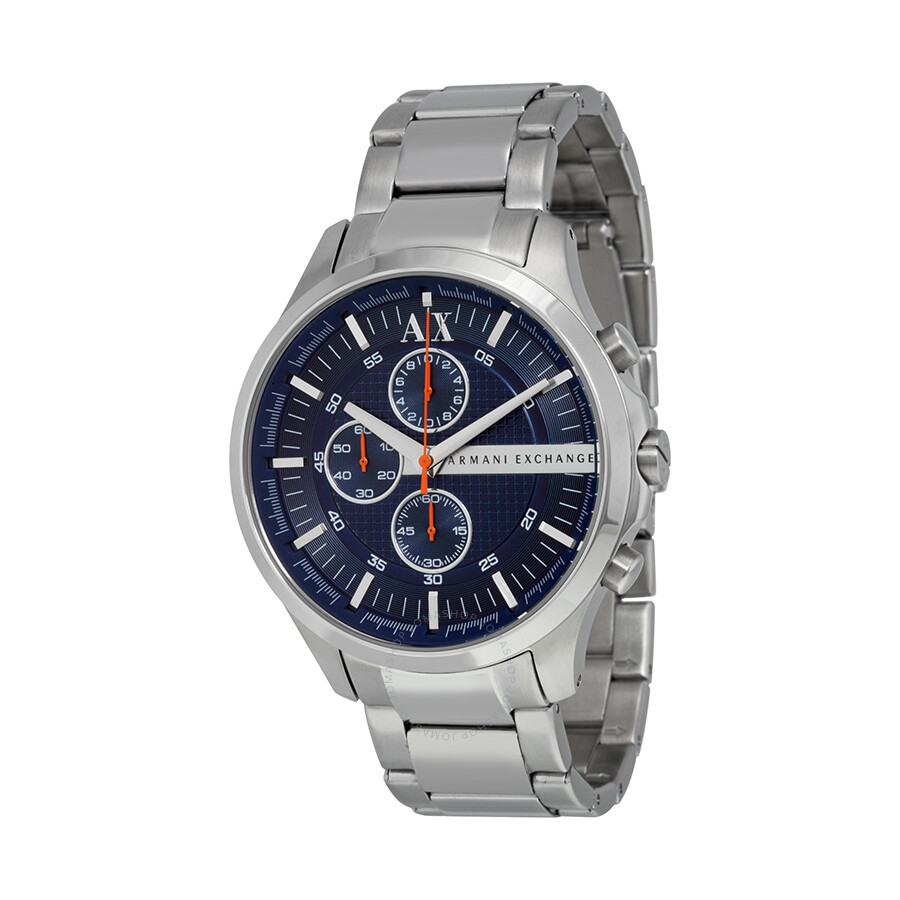 68f32adcb87 Armani Exchange Blue Dial Chronograph Men s Watch AX2155 - Armani ...