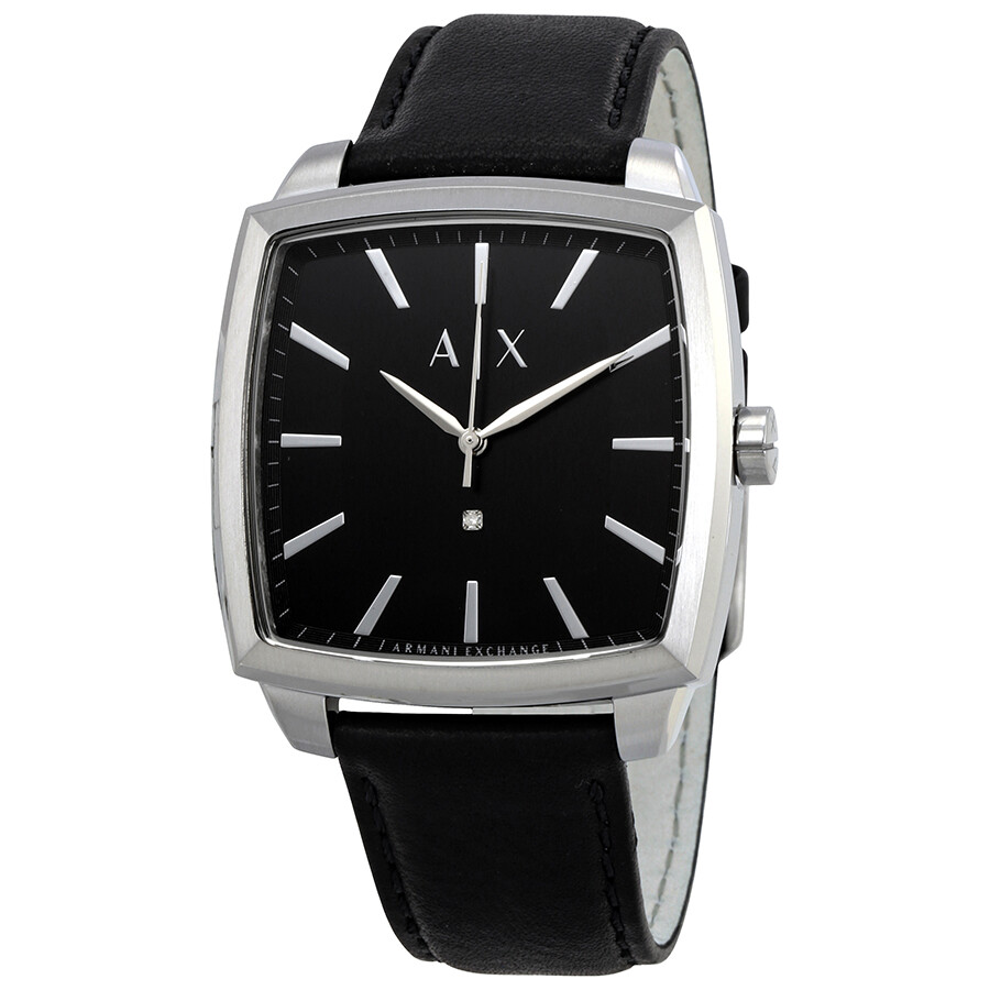 Armani exchange diamond accent stainless steel bracelet watch ax2362 armani exchange watches for Armani exchange watches
