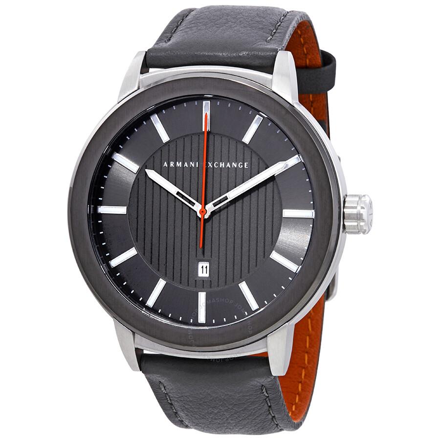 e41d845188f Armani Exchange Grey Sunray Dial Men s Watch AX1462 - Armani ...