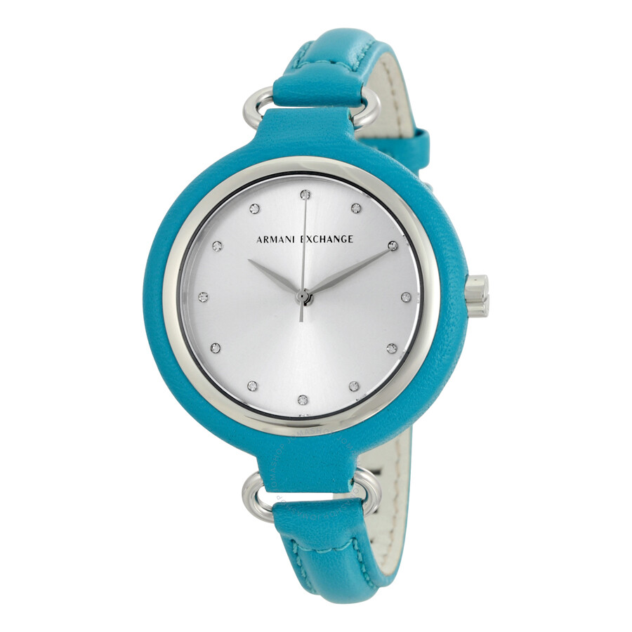 Ladies watch with teal color?