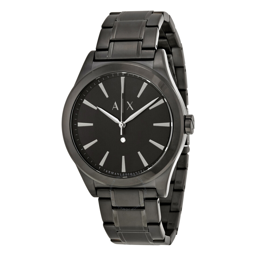 Armani exchange nico black dial men 39 s watch ax2326 armani exchange watches jomashop for Armani exchange watches
