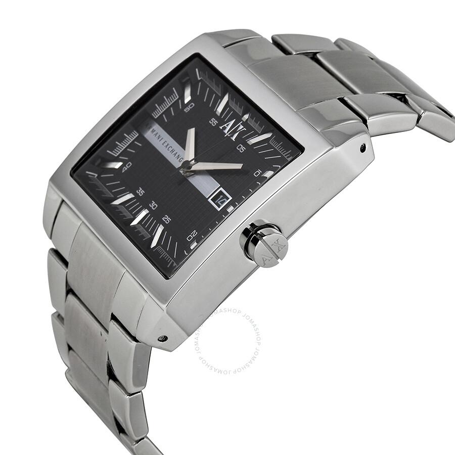 acc9d9254 ... Armani Exchange Smart Black Dial Stainless Steel Men s Watch AX2200 ...