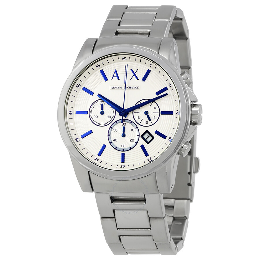 Armani exchange smart chronograph men 39 s watch ax2510 armani exchange watches jomashop for Armani exchange watches