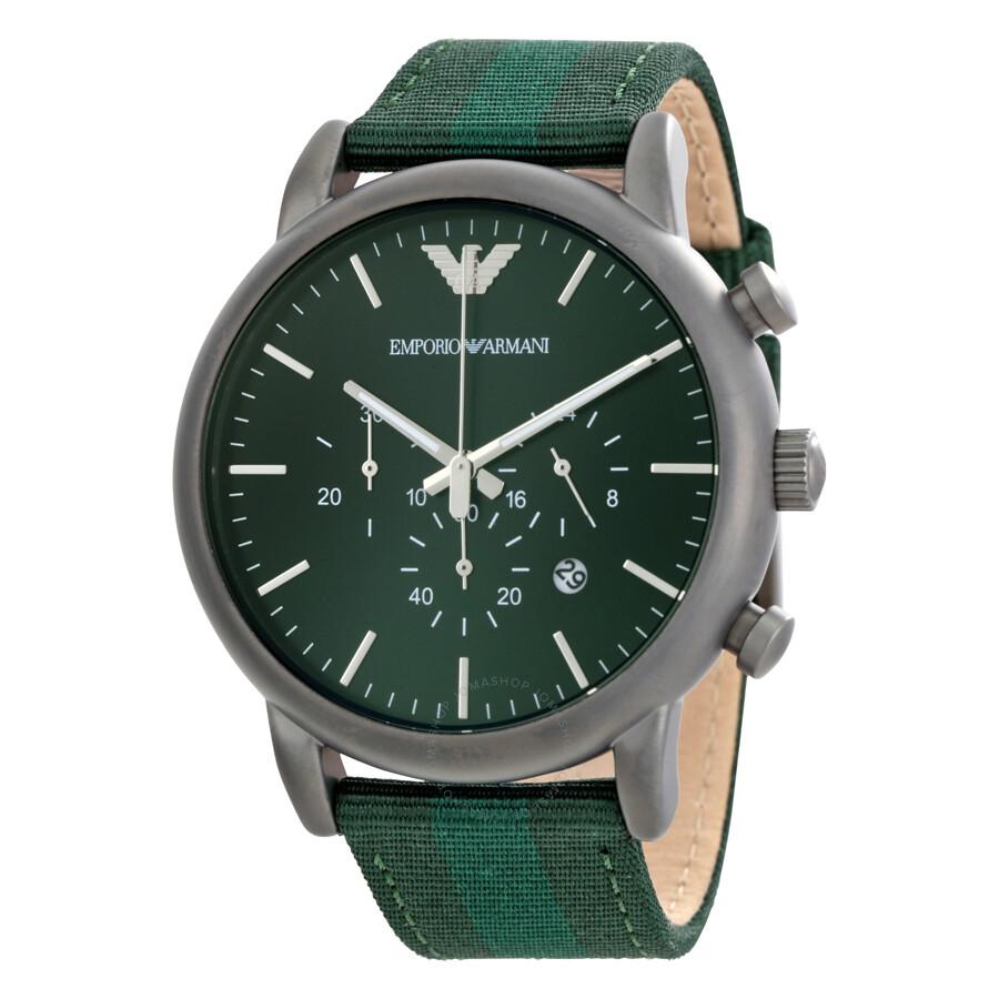 armani green
