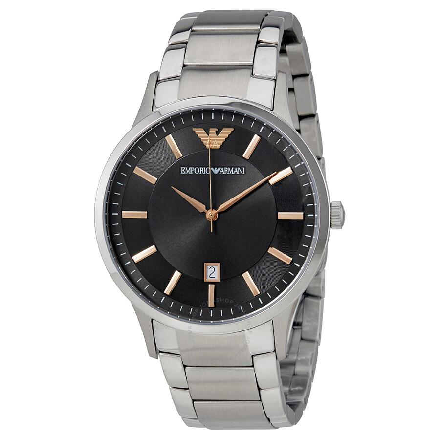 Часы emporio armani steel back stainless steel