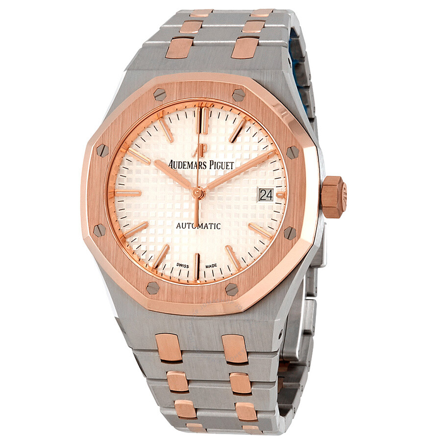 9577da3054259 Audemars Piguet Royal Oak Automatic Silver Dial Midsize Watch 15450SR.