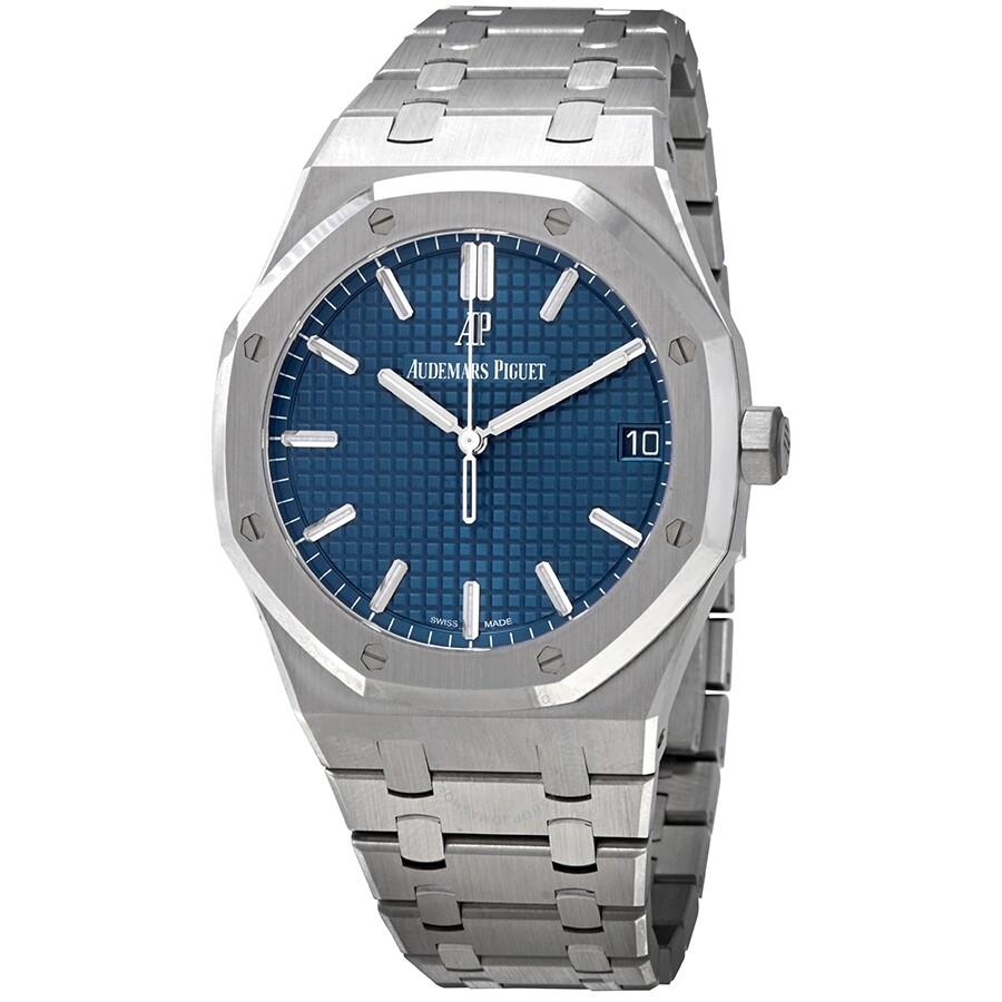 Audemars Piguet Royal Oak Blue Dial Automatic Men S Watch