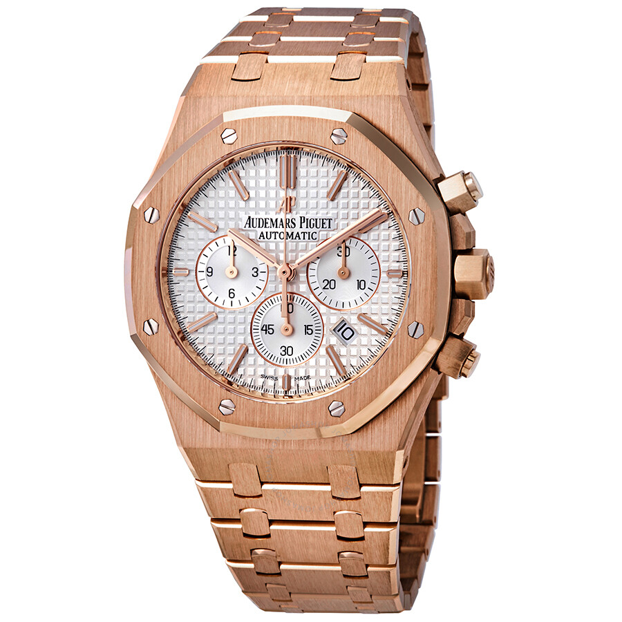 12bedfccb04e Audemars Piguet Royal Oak Chronograph Automatic 18 kt Rose Gold Men s Watch  26320OR.OO.